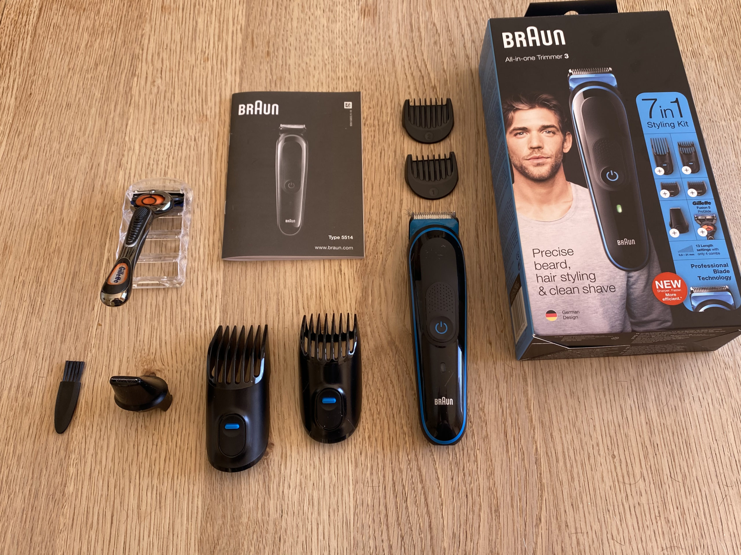 Braun All in One Trimmer 3.